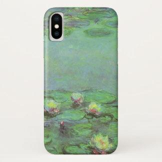 Waterlilies by Claude Monet, Vintage Impressionism iPhone X Case