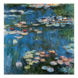 Waterlilies by Claude Monet, Vintage Impressionism Print