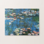 Waterlilies by Claude Monet, Vintage Impressionism Puzzle