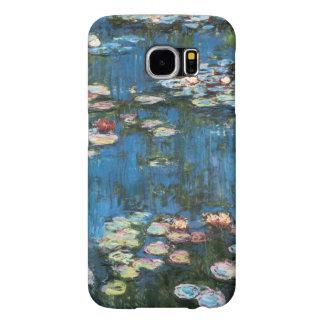 Waterlilies by Claude Monet, Vintage Impressionism Samsung Galaxy S6 Case