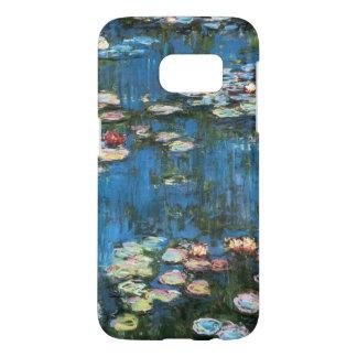 Waterlilies by Claude Monet, Vintage Impressionism Samsung Galaxy S7 Case