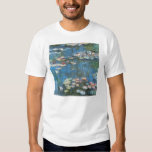 Waterlilies by Claude Monet, Vintage Impressionism Shirt