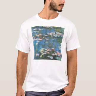 Waterlilies by Claude Monet, Vintage Impressionism T-Shirt