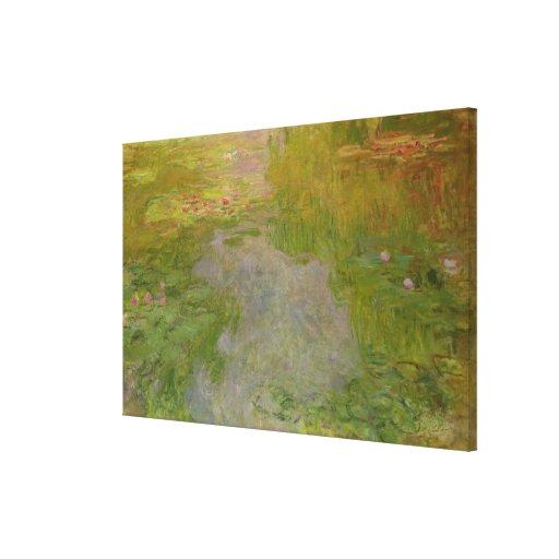 Waterlilies, c.1919 (aceite en lona) lona estirada galerias