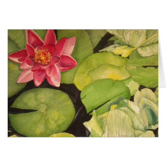 Waterlilies Card