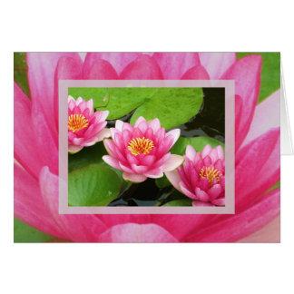 Waterlilies Card