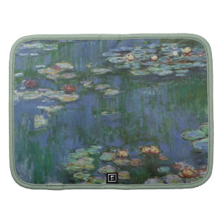 Waterlilies, Claude Monet, bella arte floral del v Organizadores