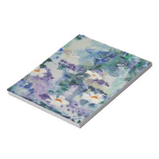 Waterlilies contemporáneos de la bella arte del ©  blocs de notas