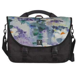 Waterlilies contemporáneos de la bella arte del © bolsas para portatil