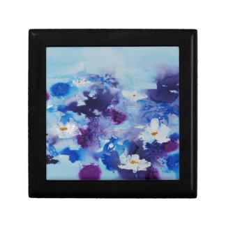 Waterlilies contemporáneos de la bella arte del ©  cajas de regalo