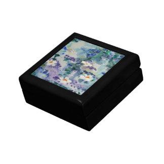 Waterlilies contemporáneos de la bella arte del ©  cajas de joyas