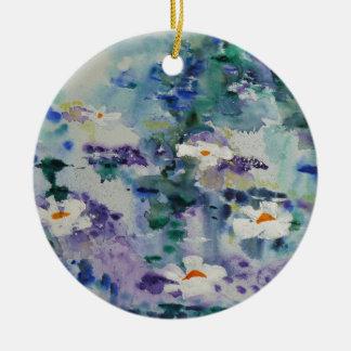 Waterlilies contemporáneos de la bella arte del © adorno para reyes