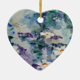 Waterlilies contemporáneos de la bella arte del © ornamento de reyes magos