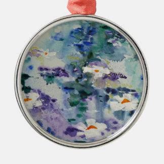 Waterlilies contemporáneos de la bella arte del © ornamento para reyes magos