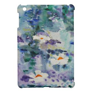 Waterlilies contemporáneos de la bella arte del ©  iPad mini cárcasa