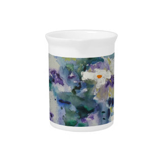 Waterlilies contemporáneos de la bella arte del ©  jarras