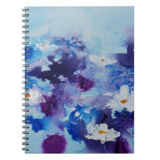 Waterlilies contemporáneos de la bella arte del ©  libreta