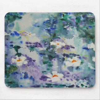 Waterlilies contemporáneos de la bella arte del ©  tapete de raton