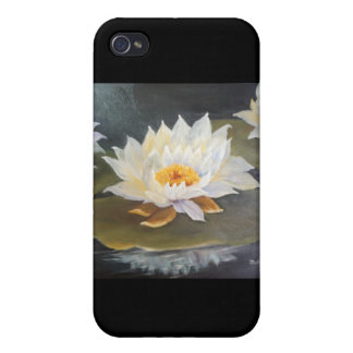 WATERLILIES  COVER FOR iPhone 4