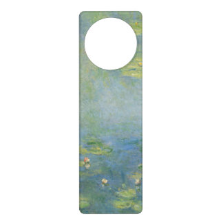 Waterlilies de Claude Monet Colgadores Para Puertas