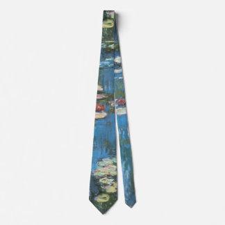 Waterlilies de Claude Monet, impresionismo del Corbatas Personalizadas