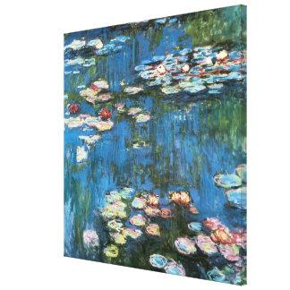 Waterlilies de Claude Monet, impresionismo del Impresiones En Lienzo Estiradas