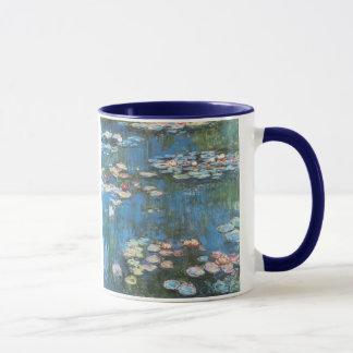 Waterlilies de Claude Monet, impresionismo del Taza