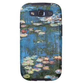 Waterlilies de Claude Monet impresionismo del vin Galaxy S3 Cárcasa