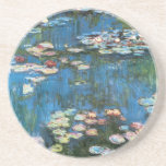 Waterlilies de Claude Monet, impresionismo del vin Posavasos Diseño