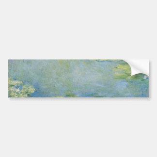 Waterlilies de Claude Monet Pegatina Para Auto