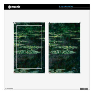 Waterlilies de Claude Monet Pegatina Skin Para Kindle Fire