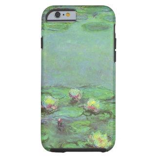 Waterlilies de Monet, impresionismo floral del Funda Para iPhone 6 Tough