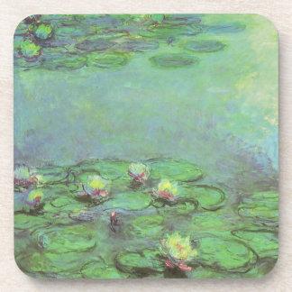 Waterlilies de Monet, impresionismo floral del Posavasos