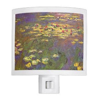 Waterlilies de Monet Luz De Noche