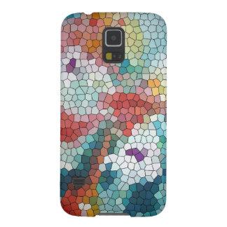 Waterlilies del mosaico del vitral del © P Wherrel Carcasas De Galaxy S5