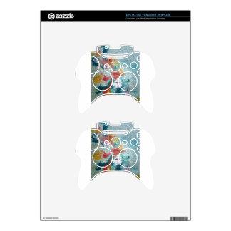 Waterlilies del mosaico del vitral del © P Wherrel Mando Xbox 360 Skin