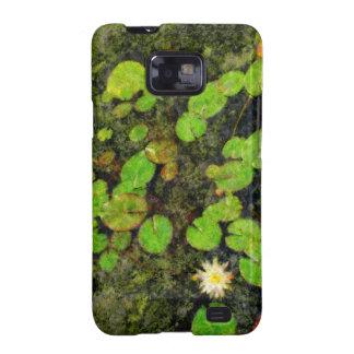 Waterlilies en el verano samsung galaxy s2 carcasa