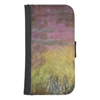 Waterlilies en la puesta del sol, 1915-26 funda billetera para teléfono