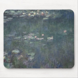 Waterlilies: Green Reflections, 1914-18 2 Mouse Pad