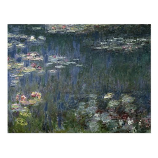 Waterlilies: Green Reflections, 1914-18 Postcards