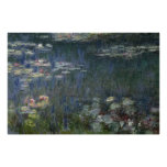 Waterlilies: Green Reflections, 1914-18 Print