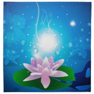 Waterlilies hermosos servilletas