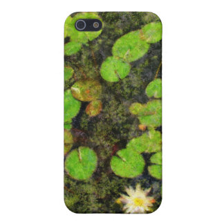 Waterlilies in the Summer Covers For iPhone 5