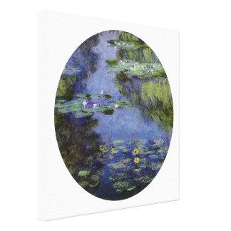 Waterlilies Lienzo Envuelto Para Galerías