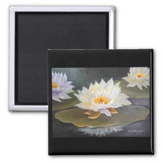 waterlilies magnet