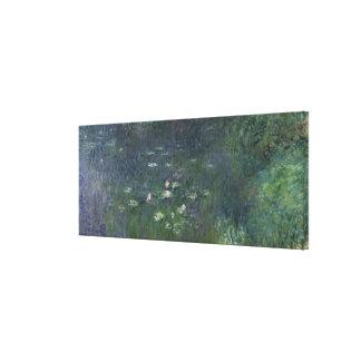 Waterlilies: Mañana, 1914-18 Impresiones De Lienzo