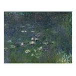 Waterlilies: Mañana, 1914-18 Tarjetas Postales