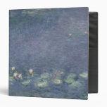 Waterlilies: Morning, 1914-18 3 Ring Binder