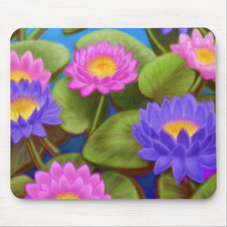 Waterlilies Mousepad Tapete De Ratones