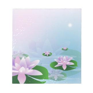 Waterlilies Note Pads